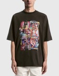 We11done New Movie Collage T-shirt Charcoal Men