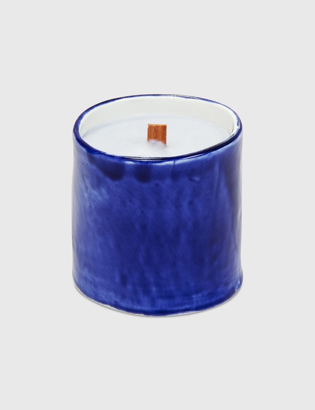 Crosby Studios Gray Candle Small Blue Unisex