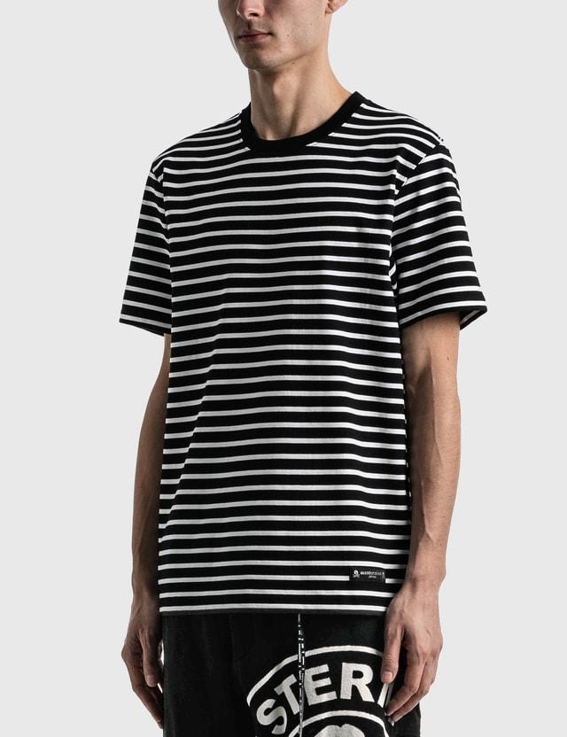 Mastermind Japan Striped T-shirt Black X White Men