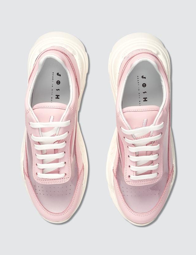 Joshua Sanders Zenith Pink PVC Sneakers