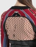 Marine Serre Regenerated Knit Melange Hybrid Jumper 8 Brown Women