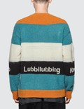 Undercover Stripe Knitted Sweater