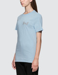 Places + Faces P+F Logo Reflective Short Sleeve T-shirt
