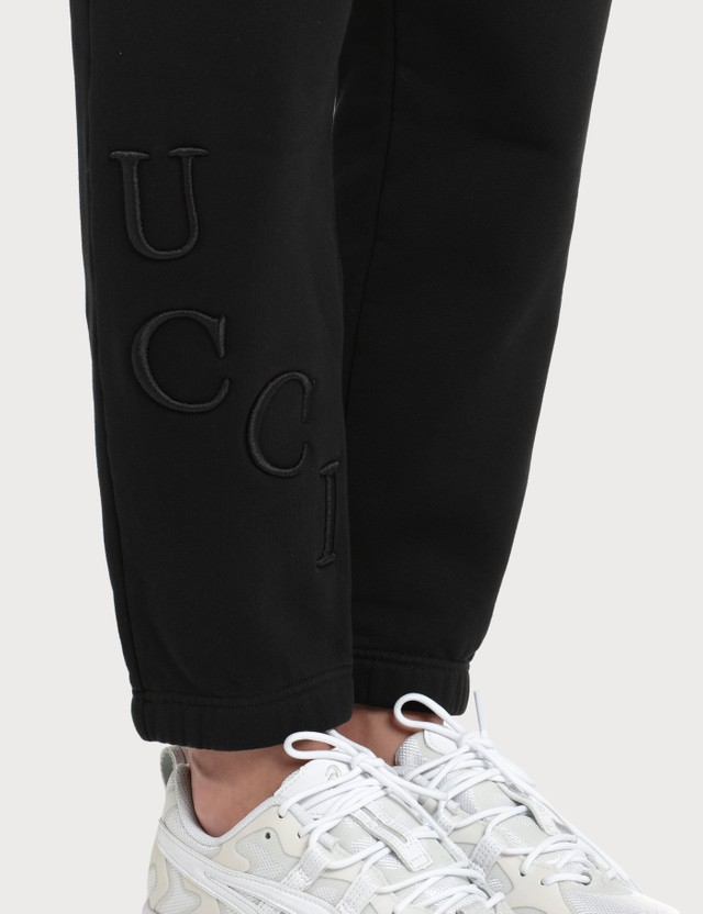Fiorucci Embroidered Logo Angel Jogger Pants