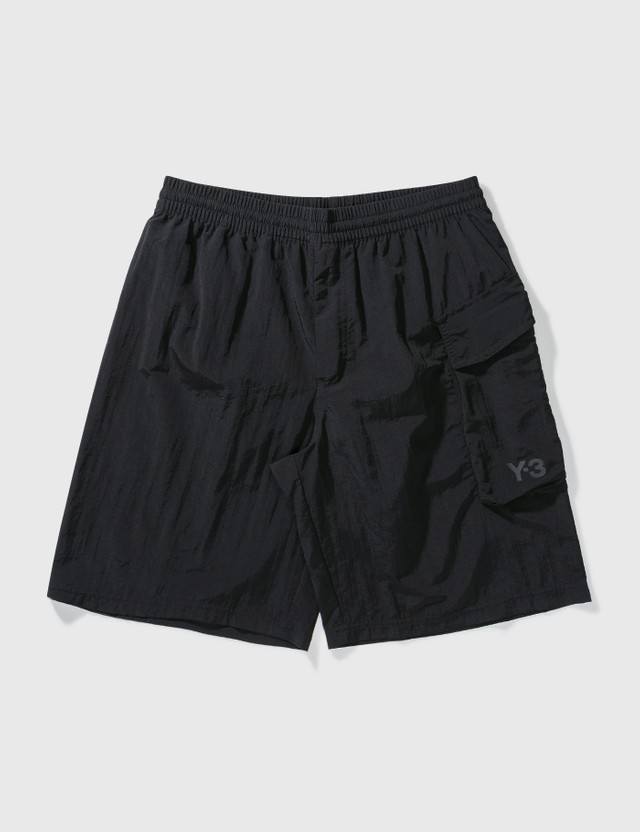 Y-3 Utility Swim Shorts Black Men