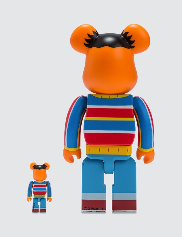 Medicom Toy Be@rbrick 100% & 400% Ernie Set