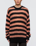 McQ Alexander McQueen Graphic Jacquard Knit Sweater Picture