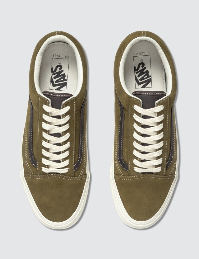 Vans OG Old Skool LX (nubuck/leather) Chocolate Chip/black Coffee Men