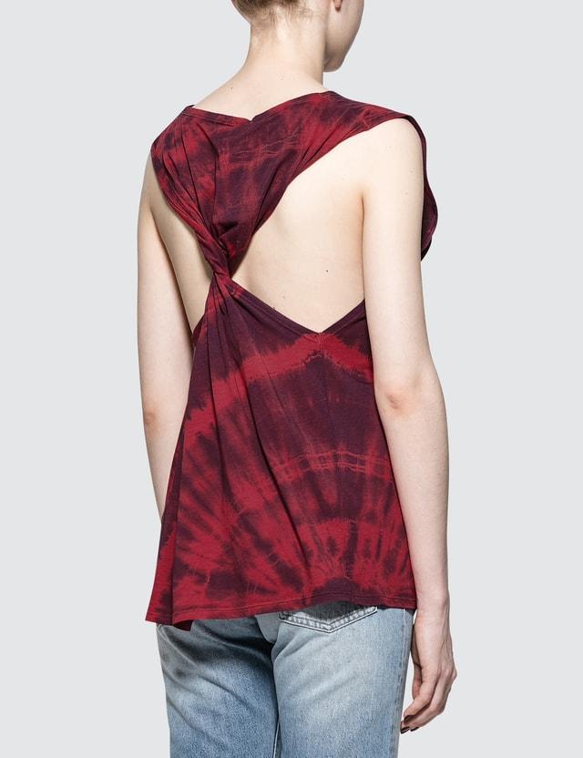 Aries Twisted Tie Dye Vest
