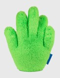 Crosby Studios Green Short Furry Hand Pillow Picutre