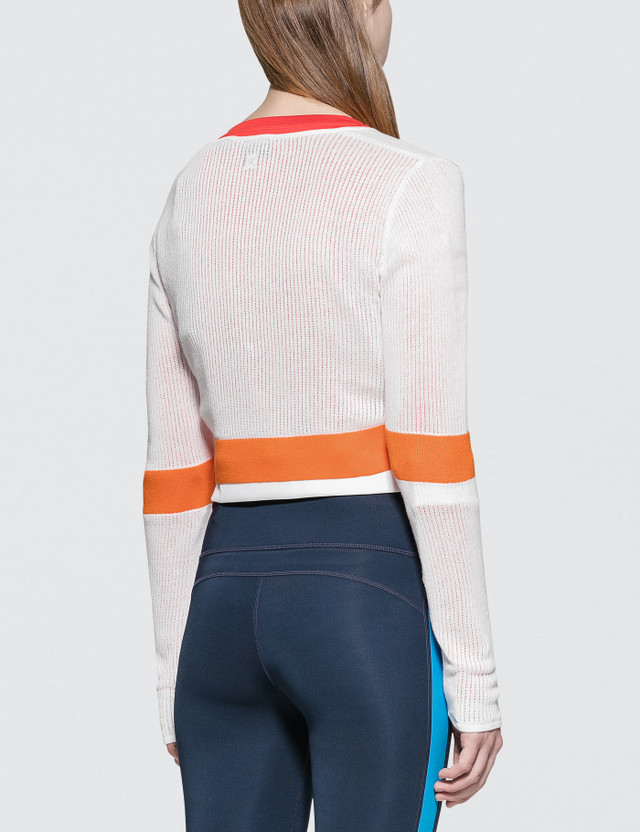 Calvin Klein Performance Color Block Crop Jacket