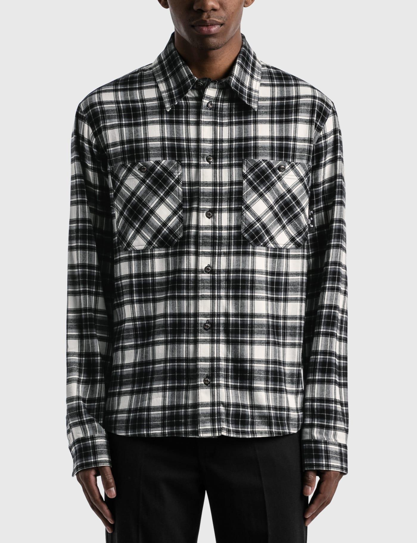 Arrow Check Flannel Shirt