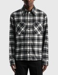 Off-White Arrow Check Flannel Shirt Picutre