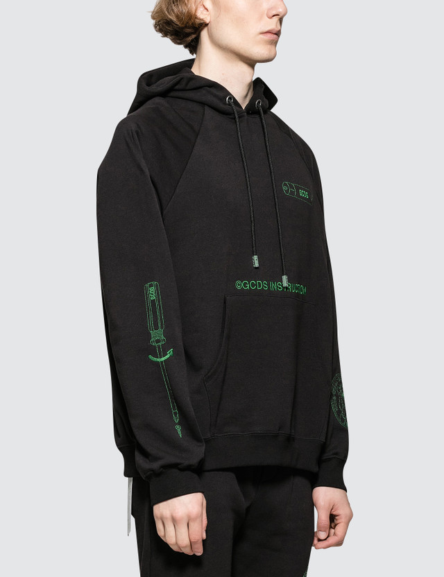 GCDS Instruction Hoodie
