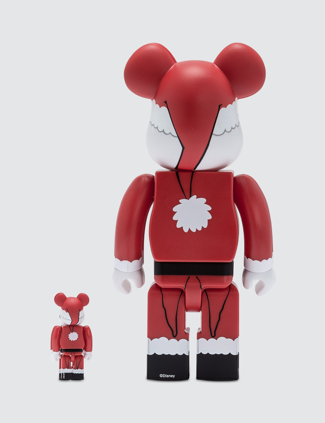 Medicom Toy Santa Jack Skellington Be@rbrick 100% + 400% Set