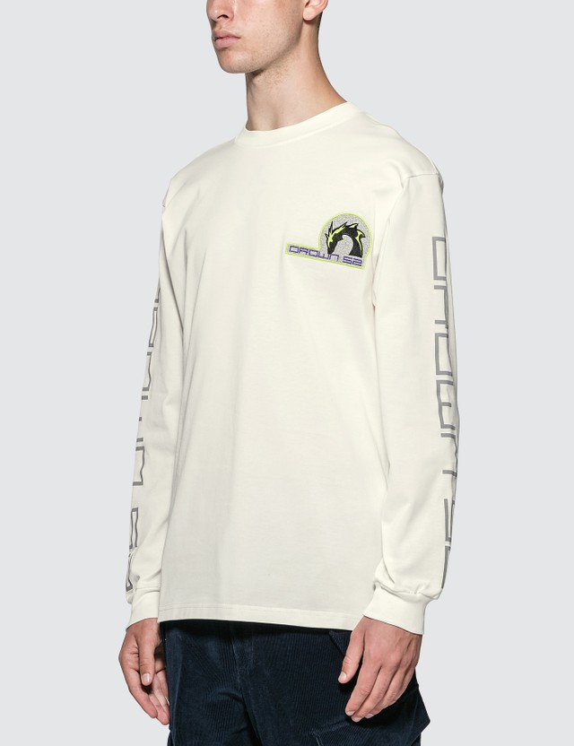 Sankuanz Embroidered Logo Long Sleeve T-shirt