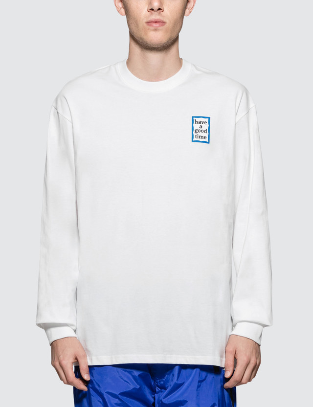 Have A Good Time Blue Mini Frame L/S T-Shirt