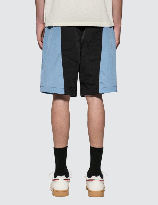 Ami Oversize Short Bleu/noir/409 Men