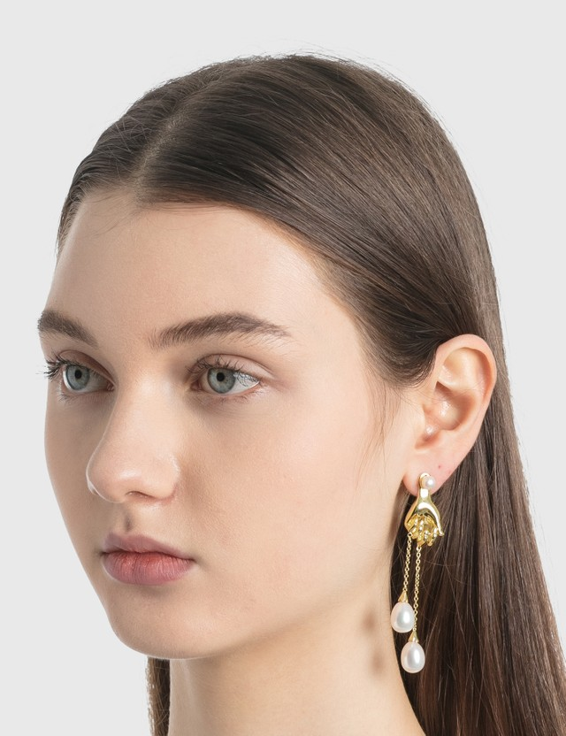 Anissa Kermiche Grab Them By The Balls Earring
