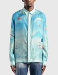 Casablanca Silk Twill Casablanca Ski Club Shirt 사진