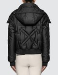 Off-White Embroidered Arrow Down Jacket Picture