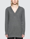 Alexander Wang.T Raw Edge V-neck Dress Picutre