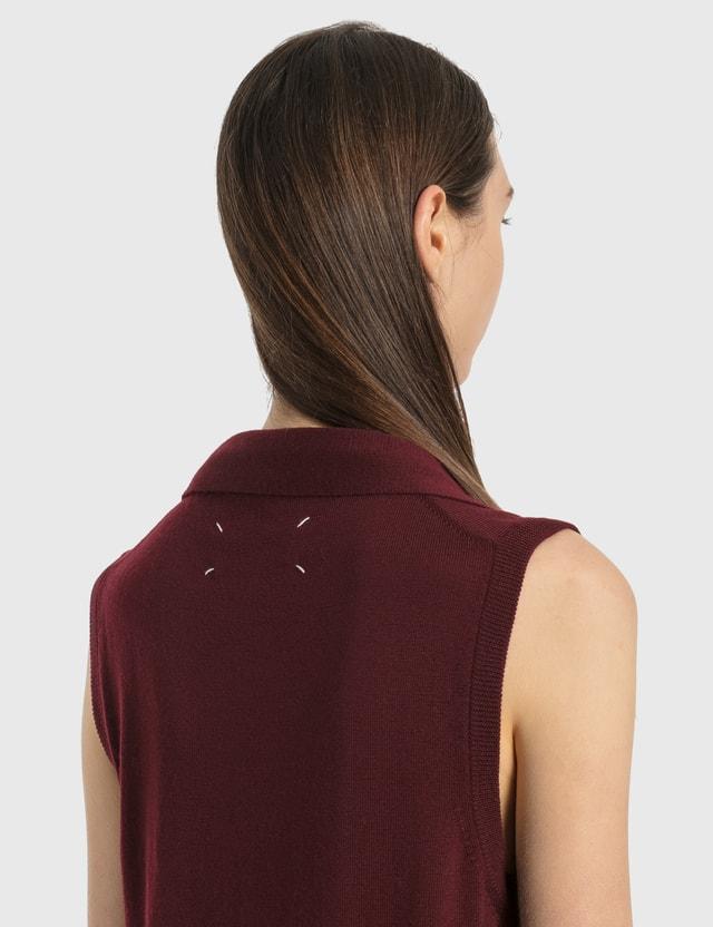 Maison Margiela Knit Vest With Tie