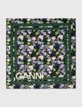 Ganni Floral Printed Scarf Picture