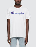Champion Reverse Weave Script Logo S/S T-Shirt Picutre