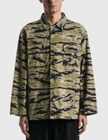 Wacko Maria Wacko Maria X Tim Lehi Tigercamo Army Shirt ( Type-2 ) Picutre