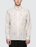 Maison Kitsune Jacquard Maison Kitsune Classic Shirt Picutre
