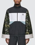 Martine Rose Jacquard Sleeves Track Jacket Navy Men