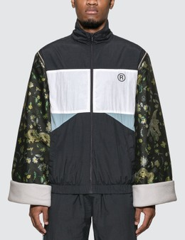 Martine Rose Jacquard Sleeves Track Jacket