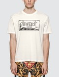 Versace License Plate Logo T-shirt Picture