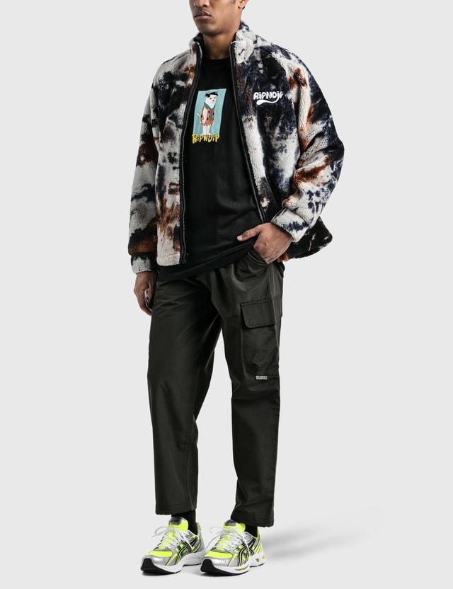 RIPNDIP Ripntail Sherpa Jaket Tie Dye Men