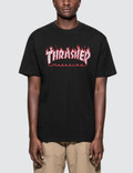 Thrasher Splatter Flame T-Shirt Picture