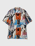 Wacko Maria Wacko Maria X Jean-Michel Basquiat SS Hawaiian Shirt ( Type-3 ) Picture