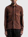 CP Company Front Pocket Lens Shirt Picture