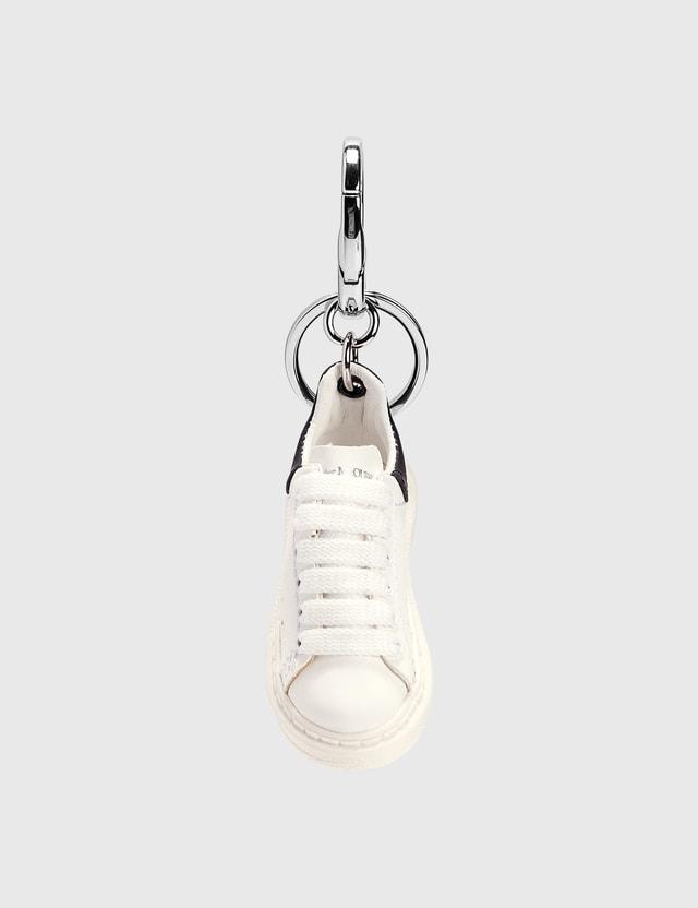 Alexander McQueen Sneaker Keychain White/black Men