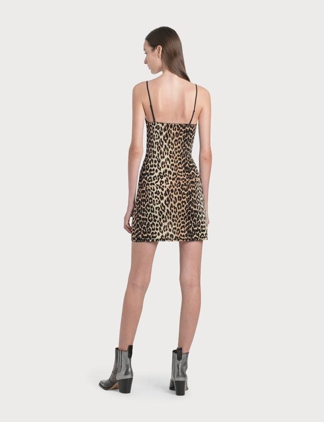Ganni Rayon Underwear Slip Dress