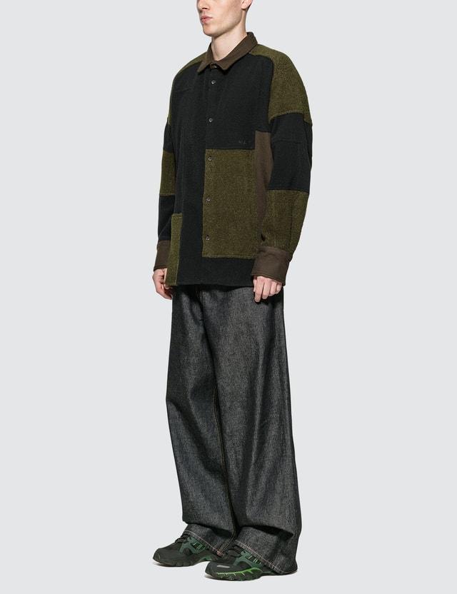 Ambush Fleece Patchwork Shirt