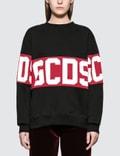 GCDS Logo Band Sweatshirt Picture