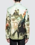 CALVIN KLEIN JEANS EST.1978 Rodeo Print Western Shirt