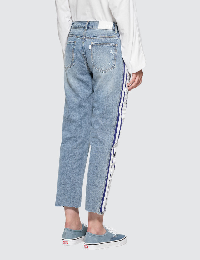 SJYP Side Taped Jeans