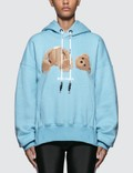 Palm Angels Kill The Bear Cropped Hoodie Picture