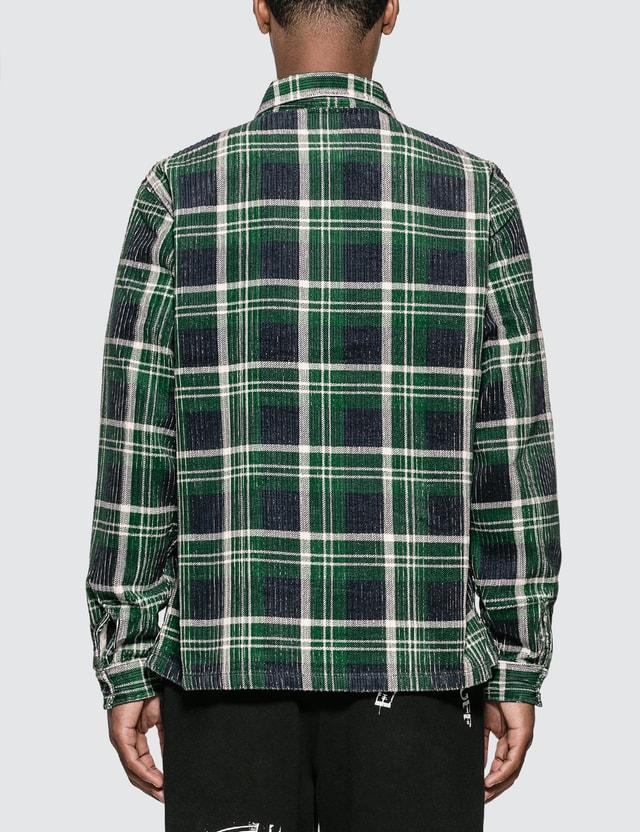 Stussy Big Wale Cord Zip Up Long Sleeve Shirt