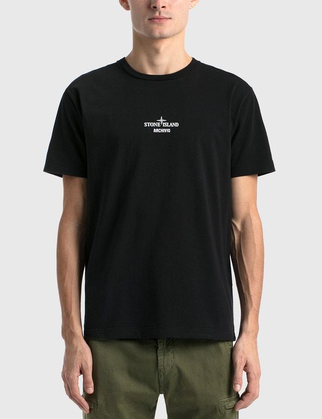 Stone Island Archive T-Shirt Nero Men