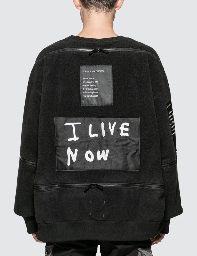 Takahiromiyashita Thesoloist Fleece Sweatshirt With Zippered Trim