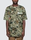 Heron Preston Heron Preston X Carhartt Camo T-Shirt