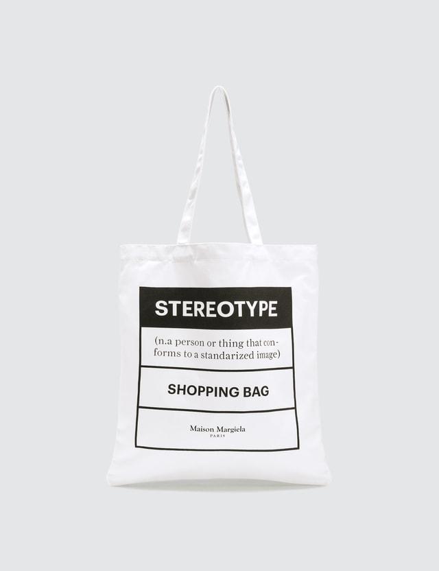 Maison Margiela Stereotype Shopping Bag